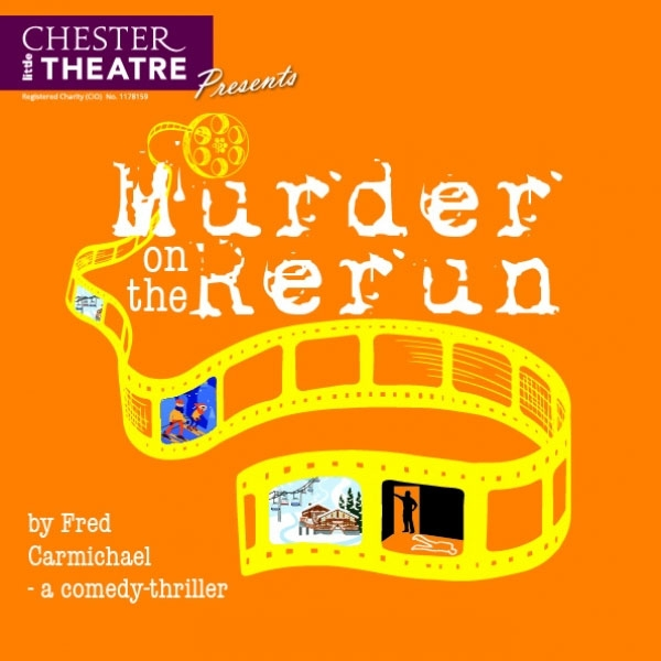 MURDER ON THE RERUN by Fred Carmichael - a comedy thriller